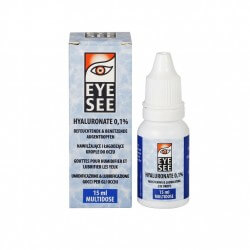 EYE SEE Hyaluronate 15ml - krople do oczu, kategoria Krople do oczu, cena 22,00 zł - 294-KROPLEDOOCZU